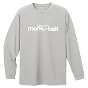 WIC.ロングスリーブT クラシカル mont-bellロゴ Men's