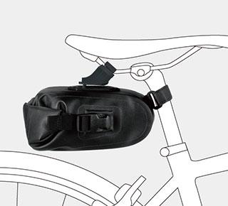 自転車の 自転車 高さ サドル : ... | ドライ サドルバッグ L